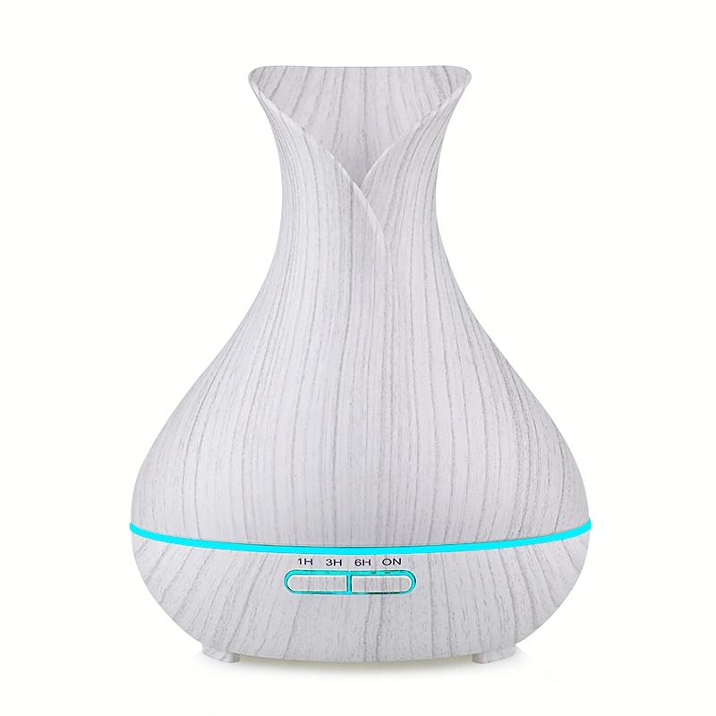 花瓶白木纹加湿器