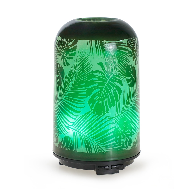 绿叶玻璃香薰机
